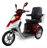 Tres ruedas de alta calidad moto scooter de movilidad de discapacitados