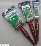 Покрасьте ручку щетки щетинки 6pk обломока чисто универсальноую-применим деревянную