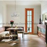 Дверь Casement горячего надувательства конкурентоспособной цены алюминиевая нутряная (FT-D70)
