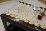 50cm de ancho de vinilo de PVC de oro de encaje de mesa Placemat en rollo (JFBD-022)