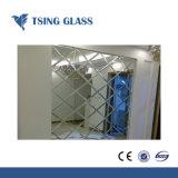 Stile moderno dello specchio d'argento libero per la stanza da bagno con i formati personalizzati