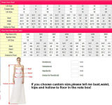 Sweetheart Sequins Prom Party Dress Chiffon Overlay Vestidos de noite C014