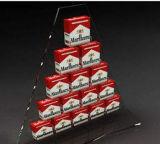 Les ventes en gros effacent le présentoir acrylique de cigarette d'étage