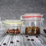 يخلي خداع حارّ [4بكس] [800مل-2000مل] زجاجيّة تخزين طعام مرطبان مع ختم صوف غطاء لأنّ [كيتشنور]