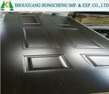 Piel de la puerta con madera contrachapada y material de HDF/MDF