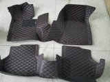 couvre-tapis en cuir 2014-2017 de véhicule de 5D XPE pour la ville de Honda