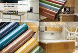 Papel de la lámina de PVC para los muebles