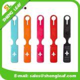 Heiße verkaufende fördernder kundenspezifischer farbenreicher Druck PVC-Plastikgepäck-Marke