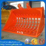 KOMATSU/Hitachi/Kobelco/esqueleto de Hyundai/cozimento na grelha/cubeta da raspagem para a máquina escavadora 20t