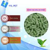 El té verde de buena calidad Tofu arena de gato (YYLD02)