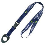High quality PP Printing Cotton Shoulder ID Badge polyester Lanyard