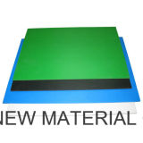 Espuma de plástico de alta densidade de 3 mm de espessura vender Preto/Branco Folha de espuma de PVC