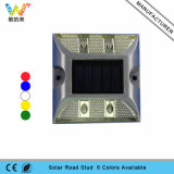 Pathway Flashing Light Refletor de energia solar Alumínio LED Road Stud