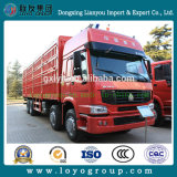 販売のためのSinotruk HOWO 8X4の塀の貨物トラック