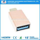 Alta calidad para el más nuevo Tipo-c adaptador del adaptador del USB 3.1 del USB del adaptador