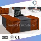 Luxus kundenspezifischer grosser Größen-Papier-Furnier-Blattbüro CEO-Schreibtisch (CAS-SW1715)