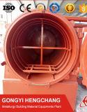 高品質の無煙ココナッツシェルの生物量の気流の浸炭窒化の炉