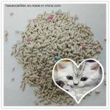 Sable de chat de bentonite pour non poussiéreux Toilette-Propre