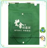 Sac à provisions non tissé réutilisé amical Eco- de vente chaud avec le logo fait sur commande