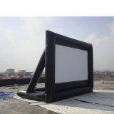 0.55mm Belüftung-Plane-beweglicher aufblasbarer Film-Bildschirm