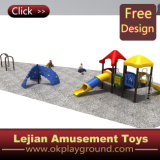 Цветастое напольное скольжение спортивной площадки малышей для Kingarden (X1501-2)