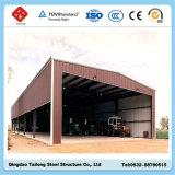 Vertiente de acero prefabricada del almacenaje del metal de la tienda del almacén del Carport
