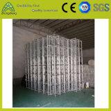 fascio di alluminio argenteo della fase del bullone di sostegno della vite di 300mm*300mm