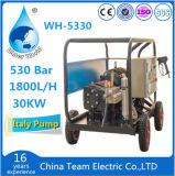 500bar de Wasmachine van de hoge druk met Zuiging