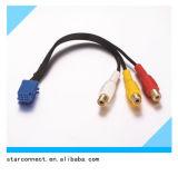 Cablaggio di collegamenti elettrico del connettore di iso dell'automobile automatica della fabbrica per le audio marche differenti