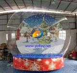 Globo inflable de la nieve de la venta caliente