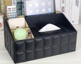 احتويت تخزين تجميع خشبيّة هبة نسيج قلي قرطاسيّة صندوق مع جلد [سبكيل] ورقة ([يلس81])