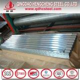 Hoja de acero galvanizada acanalada del material para techos del metal
