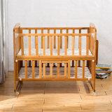 Cuna de bambú bonito estilo cama bebé