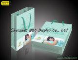 Bolsa de papel de la alta calidad que hace compras con las manetas con SGS (B&C-I037)