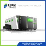 gravador cheio 4020 do cortador do laser da fibra do metal da proteção do CNC 1500W