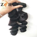Da extensão humana natural brasileira do cabelo do Virgin do preço de fábrica cabelo humano