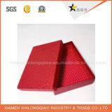 Rectángulo impreso color superficial barato del conjunto de la bufanda de Matt de la alta calidad