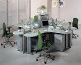 Nouvelle station de travail de mobilier de bureau avec écran de partition de verre (SZ-WST632)