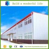 Projet préfabriqué d'entrepôt d'aménagement de construction de structure de bâti en acier