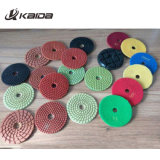 Type de fleurs 3 L'étape Diamond Polishing Pads humide pour l'Engineered Stone