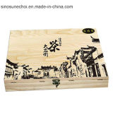 Customized Small Wooden box with LOCK for Watch