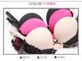 Lingerie (CS21120) 높은 쪽으로 도매 Good Quality Soft Lace Push