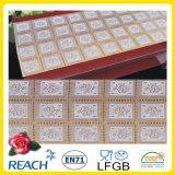 Vinylgoldsilber Belüftung-Spitze-Tisch-Seitentriebe Belüftung-Spitze-Tischdecke