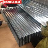 Feuille ondulée en acier galvanisée de toiture de bobine en acier