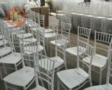 Mariage blanc Sillas Tiffany Chiavari de résine de pp