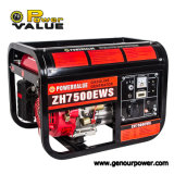 Gx420 Engine 15HP Gerador de gasolina Refrigerado a ar Power Back up 6kw Generator