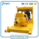 La transferencia de la papilla de arena de lodos de la bomba de agua centrífuga con motor Diesel