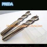 Cortadores de la pulgada del ángulo de hélice de 45 grados para el polaco de aluminio
