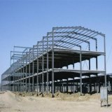 Estrutura de aço pré-fabricados de largo espectro Pre-Engineered da estrutura do prédio de Metal