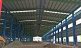 Workshop de depósito de Estrutura de aço com painel de parede de placa de fibra de cimento